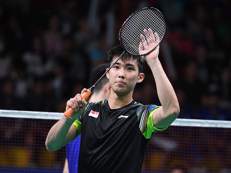 Badminton Loh Kean Yew SNOC