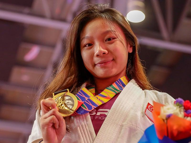 Jiujitsu Constance Lien SportSG-1